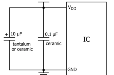 Decoupling Capacitors or bypass capacitor