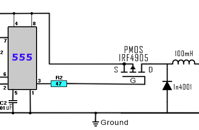 DC to DC buck converter