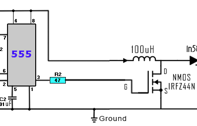 DC to DC boost converter